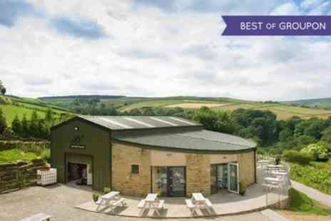Holmfirth Vineyard - One Night for 2, 4 or 6 with Breakfast, Wine, Vineyard Tour and Wine Tasting - Save 48%