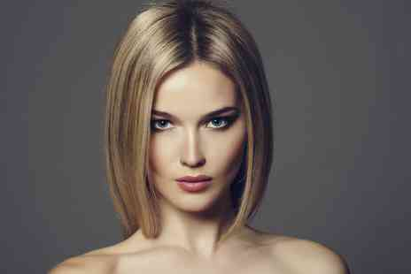 CNV Hairdressing - Full Head Highlights or Colour Plus Cut, Blow Dry and Conditioning Treatment - Save 68%