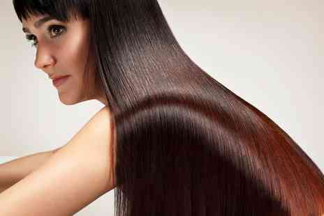 Amina Kadia Hair - Brazilian Keratin Treatment with Optional Cut  - Save 72%