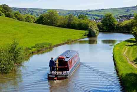 Blue Swan Boat Hire - Afternoon Tea & Canal Boat Cruise for 2 - Save 64%