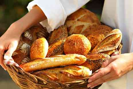 The Smart School of Cookery - Artisan Bread Making or Baking Class for One or Two - Save 71%