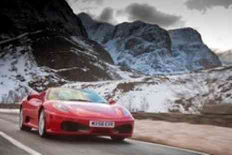 Exhilarate Scotland - Supercar Driving in Royal Run in Aberdeenshire - Save 77%