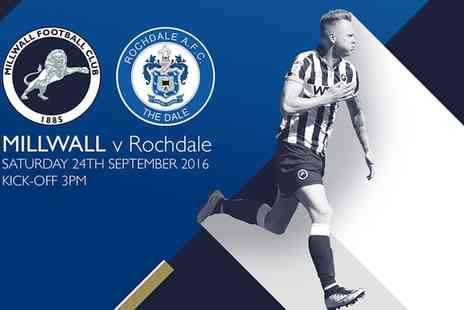 Millwall Football Club - Millwall v Rochdale or Bolton Child, Adult or Family Ticket - Save 0%