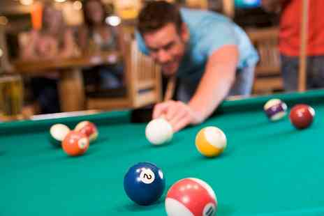 Eight Club Bank - Two Hours of Pool with Beer for Up to Four - Save 0%