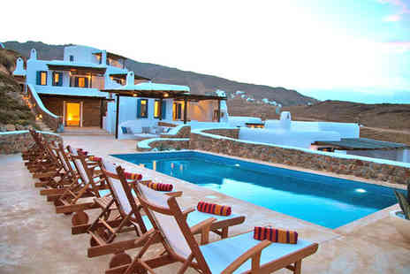 Mykonos Panormos Villas - 10 nights in a Two Bedroom Sea View Villa with Private Pool - Save 43%