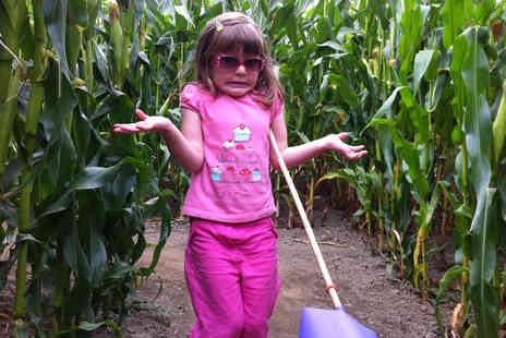 Cawthorne Maize Maze - Maize maze entry for two adults - Save 54%