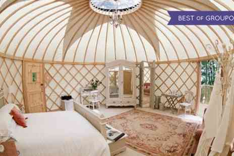 Rookery Manor - One or Two Nights Stay for Two in a Yurt with Breakfast, Spa Access, Dinner, and Prosecco - Save 61%