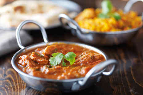 The Raj - Three course Indian meal for two - Save 51%