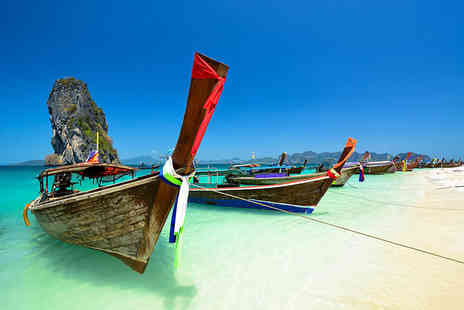 Weekender Breaks - 10 night Thailand break to Bangkok including flights and a choice of three beach destinations - Save 0%