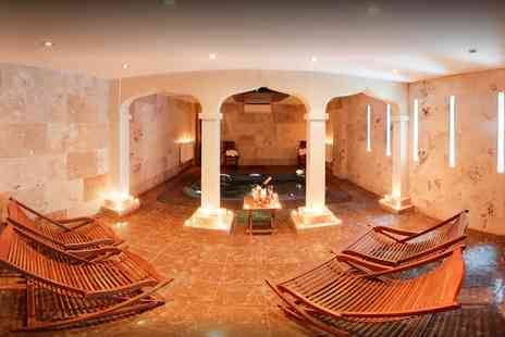 Portland Hall Spa - Three Treatments and Light Lunch for Two - Save 67%