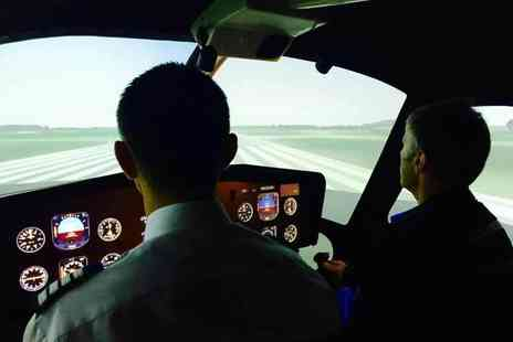 VVB Aviation - 30 minute helicopter simulator experience - Save 61%