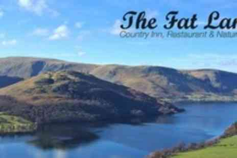 The Fat Lamb - In Lake District Two Night Stay For Two With Afternoon Tea and Breakfast - Save 53%
