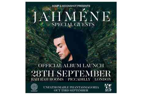 Jahmene - Ticket to Jahmene On 28 September - Save 33%