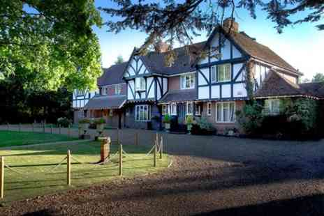 Little Silver Country Hotel - One Night Garden of England Escape with Champagne for Two - Save 0%