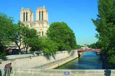 Eurostar - One Night Paris Break by Eurostar with Three Course Lunch Cruise On board Bateaux Parisien for Two - Save 0%
