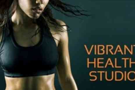 Vibrant Health Studio - Twelve Vibration Training Sessions - Save 59%