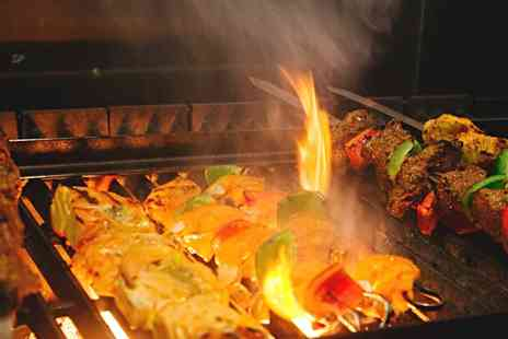 Flamin Mangal - Two Course Meal for Two or Four - Save 43%