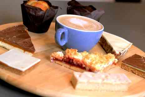 Acoustic Cafe - Hot Drink and Cake for One or Two - Save 0%