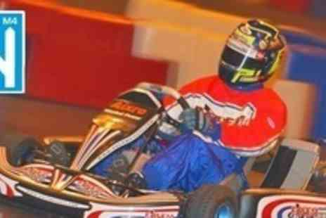 M4 Karting - 30 Laps For Two - Save 53%