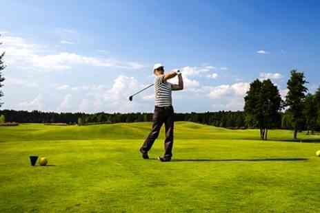 Manston Golf Centre - 18 Holes of Golf with Drink for Two or Four - Save 36%