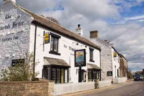 Wensleydale Heifer - North Yorkshire Steak or Lobster Meal for 2 with Bubbly - Save 38%
