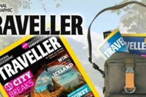 National Geographic Traveller - Eight Issues  Delivered To Your Door - Save 61%