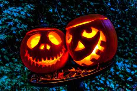 Whilton Locks Garden village - Eat, Cuddle, Hunt Halloween Event for a Family - Save 0%