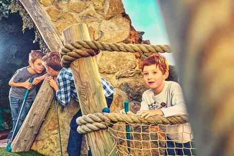 Adventure Leisure - Family ticket to Mr Mulligans 18 hole pirate adventure golf - Save 50%