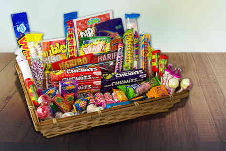 Gift Mountain - 1.1kg retro sweet hamper - Save 72%