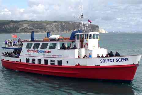 City Cruises - Child or Adult Ticket to Poole Harbour and Islands Cruise - Save 49%