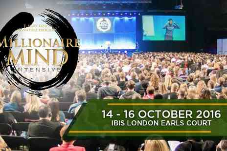 Success Resources - Millionaire Mind Intensive on 14 To 16 October - Save 70%