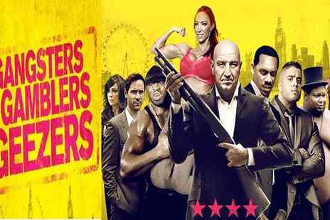 Jaffa Film Entertainment - Gangsters, Gamblers and Geezers Prepremiere on 20 September at 6 p.m - Save 81%
