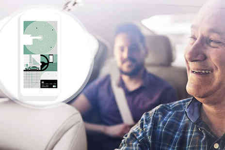 Uber - £3 For £15 Towards a Car Journey - Save 80%