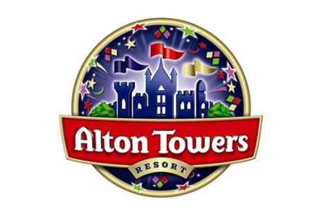 Alton Towers Resort - One Night Break with Alton Towers Resort Tickets for Two - Save 0%