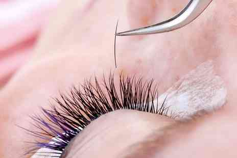 Nail and Beautyco - Individual Eyelash Extensions with an Optional Eyebrow Shape - Save 62%