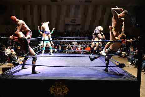 LDN wrestling - LDN Wrestling Event Ticket for One, Two or a Family of Four, Choice of Date and Location - Save 42%