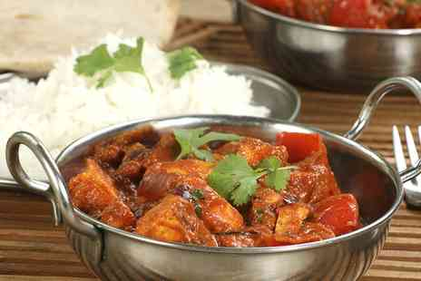 Ashoka Shak - Indian Meal with Rice for Two or Four - Save 63%