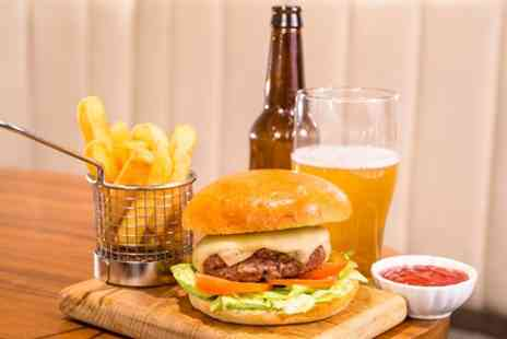 Voltaire Bar - Gourmet Burger and Cocktail for Two - Save 38%