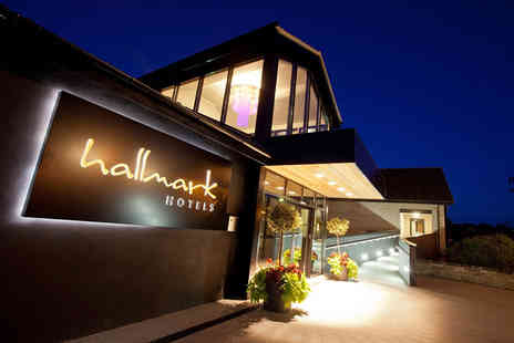 Hallmark Hotel Gloucester - Four Star Cotswolds break for two with spa access, dinner, wine and late check out - Save 48%
