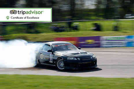 Flatout Factory - Drifting experience for one, two or four choose Birmingham or Brands Hatch and save up to 70% - Save 70%