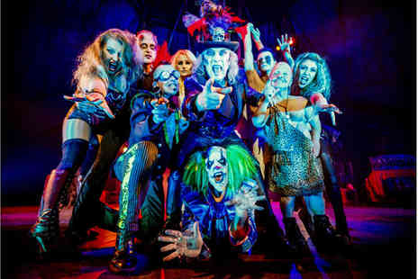 The Circus of Horrors - Ticket to Circus of Horrors, The Never Ending Nightmare on 21st or 22nd October 2016 - Save 55%