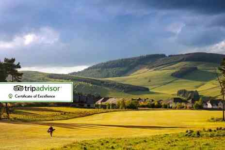 Macdonald Cardrona Hotel - Edinburgh golf break including hotel, breakfast and two rounds of 18 hole golf - Save 0%