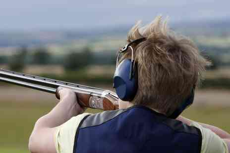 Hawley Clay Shooting Ground - Clay Pigeon Shooting Experience with 25 Clays for One - Save 0%