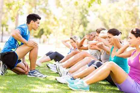 Jay Robertson PT Boot Camps & Classes - Five or Ten Boot Camp Sessions for One or Two - Save 76%