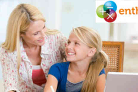 Enthuse Education - English and Maths Tuition for 1 month - Save 82%