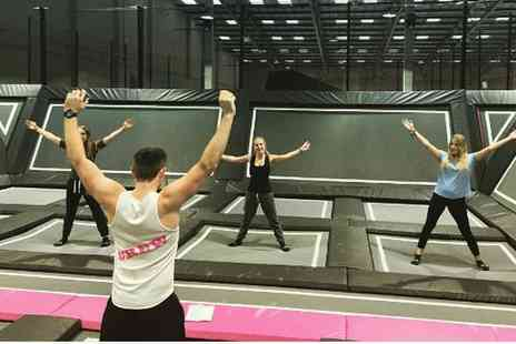 Freedog - Choice of Three or Five Trampoline Park Fitness Classes - Save 20%