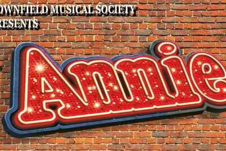 Downfield Musical Society - Annie on 28 To 29 September at 7.30 p.m. - Save 50%