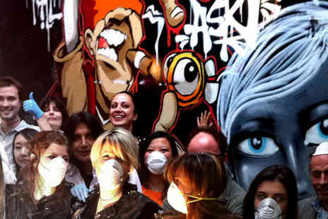Graffik Gallery - Only £35 for a two hour Grafitti Masterclass - Save 54%