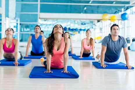MoveGB - 10 one hour yoga or Pilates classes choose from over 50 locations - Save 16%