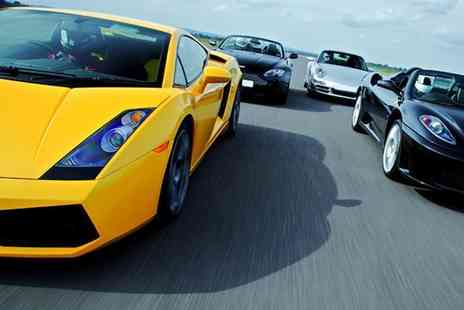 Buyagift - Triple supercar driving blast experience with high speed passenger ride - Save 0%